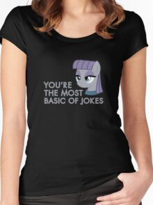 Maud Pie - MLP FiM - Brony Women's Fitted Scoop T-Shirt