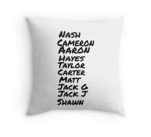 original magcon stars  Throw Pillow