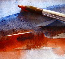 Red & Blue Water by HeklaHekla
