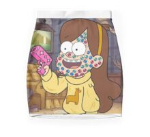 """""""I successfully bedazzled my face!""""-MABEL, GRAVITY FALLS Mini Skirt"""