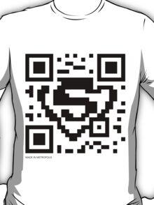 QR Code - Superman T-Shirt