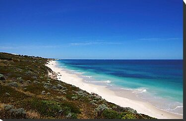 The beach at Jindalee by georgieboy98