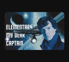 Elementary my dear Captain T-Shirt