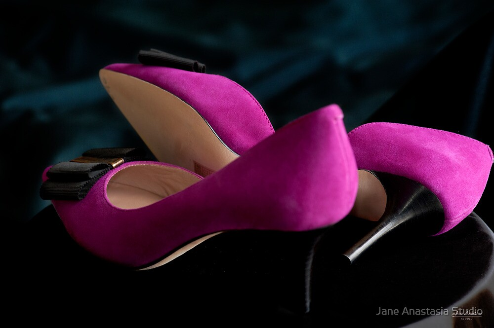 ...pink shoes.........#1 in series by Jane Anastasia Studio