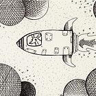 Space Rats Adventures/Spaceship by nightsparklies