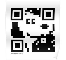 QR Code - Snoopy Poster