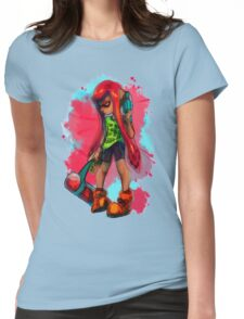 Splatoon Inkling Girl Womens Fitted T-Shirt