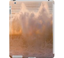 ipad ....when two waves love each other... iPad Case/Skin