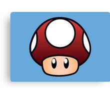 Super Mario Mushroom Canvas Print