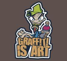 Graffiti Is Art Kids Clothes