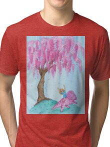 Protoceratops Willow Patch Tri-blend T-Shirt