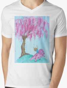 Protoceratops Willow Patch Mens V-Neck T-Shirt