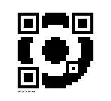 QR Code - RAF / Mods Photographic Print