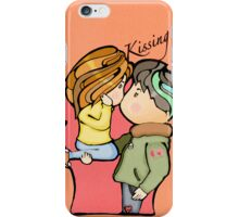 Kissing  iPhone Case/Skin