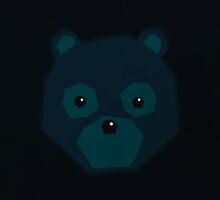 Polygon Bear by Ajan