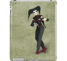 Harlequin Red Black iPad Case/Skin