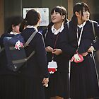 Japanese Junior High Schoolgirls #2 by Valerie Fujita