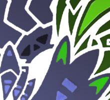 Brachydios Logo (Color) Sticker