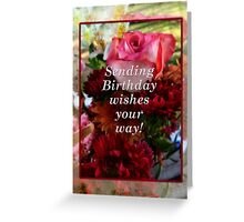 February birthday to all Bubblers!!! Greeting Card