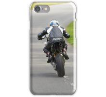 Naked street bike gunning it iPhone Case/Skin