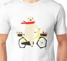 Yeti taking a Ride Unisex T-Shirt