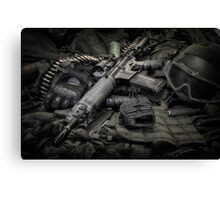 LOCK AND LOAD Canvas Print