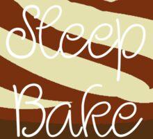 Eat Sleep Bake Repeat (Neutrals) Sticker