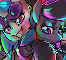 DJ Pon3 and Octavia by Dawnfire
