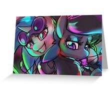 DJ Pon3 and Octavia Greeting Card