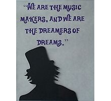 Dreamer of Dreams Photographic Print