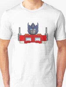 Optimus Prime Pixelated Unisex T-Shirt