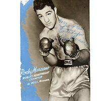 Rocky Marciano by Tolcarne