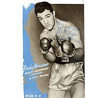Rocky Marciano Photographic Print