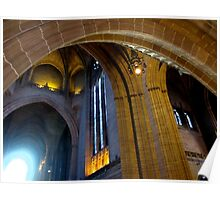 LIVERPOOL ANGLICAN CATHEDRAL ARCHES Poster
