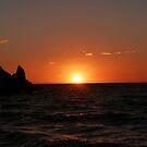 Sunset Silhouette, Devon by Ellaaa M