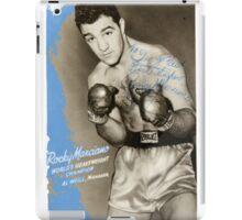 Rocky Marciano iPad Case/Skin