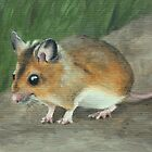 Field Mouse by Lynne  M Kirby BA(Hons)