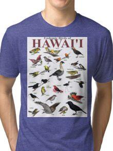 The Endemic Birds of Hawaii Tri-blend T-Shirt