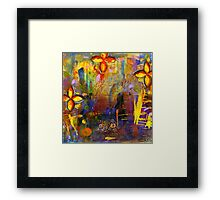 The Enchanted Sea Sword Framed Print