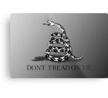 Don't Tread On Me Metal Print