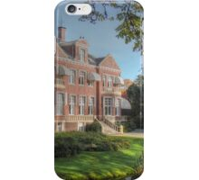 A 'well situated' house iPhone Case/Skin