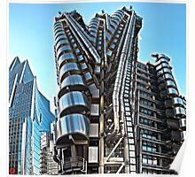 The Lloyds Building Poster