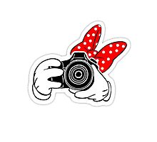 Minney Mouse SLR Photographic Print