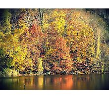 Autumn's Reflection Photographic Print