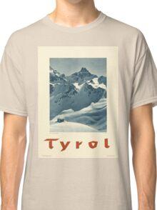 Vintage poster - Tyrol Classic T-Shirt
