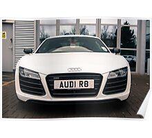2013 Audi R8 V10 Poster