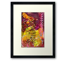 Earth's Silent Voices Framed Print