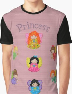 Angels for a little Princess Graphic T-Shirt