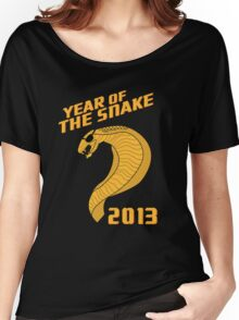 Year of the Snake (Escaped Version) Women's Relaxed Fit T-Shirt