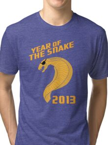 Year of the Snake (Escaped Version) Tri-blend T-Shirt